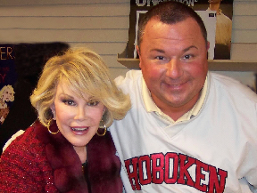 Johnny Salami with Joan Rivers