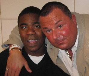 with Tracy Morgan